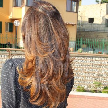 Taglio di capelli del parrucchiere Gianni Pazzi